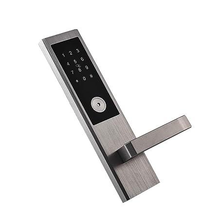 WSBBQ Cerradura de la Puerta de Bluetooth sin Llave Teclado ...