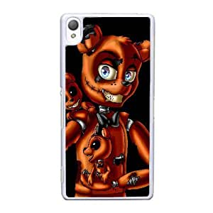 Sony Xperia Z3 Cell Phone Case White Five nights at Freddy's ST1YL6733174