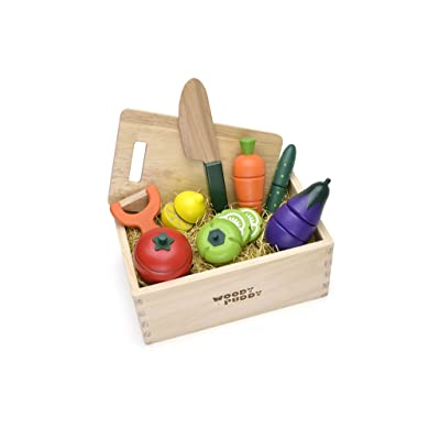 Woody Puddy Vegetable Set in Box: Toys & Games
