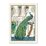 Michel Design Works Peacock Kitchen Towel