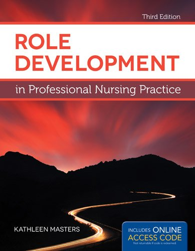 proffessional role development Description: this book uses a comprehensive competency framework based on the aacn baccalaureate essentials, the iom recommendations, qsen competencies, and other standards to guide nursing students in their professional role development.
