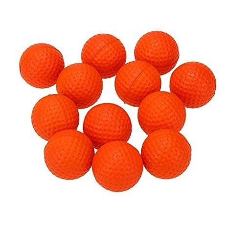 Broadroot 24pcs/lot Golf bolas de espuma de poliuretano de esponja práctica pelotas de golf práctica interior al aire libre: Amazon.es: Deportes y aire ...