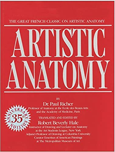 Artistic Anatomy The Great French Classic On Artistic Anatomy Dr