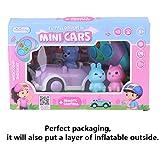 Kofun Car Toy, Cute Cartoon Animal Car Toys for 3 4 5 Year Old Boys Girls Race RC Cars Toys Set...