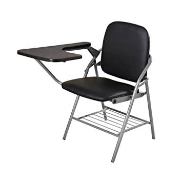 Sensational Amazon Com Qyyczdy Folding Chair Desk Chair Black Faux Alphanode Cool Chair Designs And Ideas Alphanodeonline