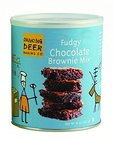 Dancing Deer Baking Mix, Fudgey Chocolate Brownie Mix, 16 Ounce