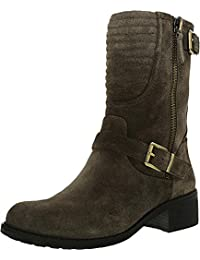 Vince Camuto Women's Warnell Leather Mid-Calf Leather Boot