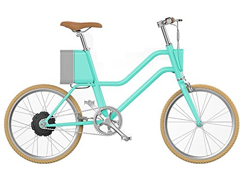 Rosso Motors Yunbike Urban Smart Electric smart Bike Commuter Bike Light Electric Bicycle Mint