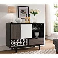 151369 Smart Home Contemporary Wine Cabinet Buffet Table