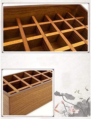 Lápiz Labial De Madera Caja De Almacenamiento Escritorio Grande Cosméticos De Madera Acabados 3 Estilos (Color : B): Amazon.es: Hogar
