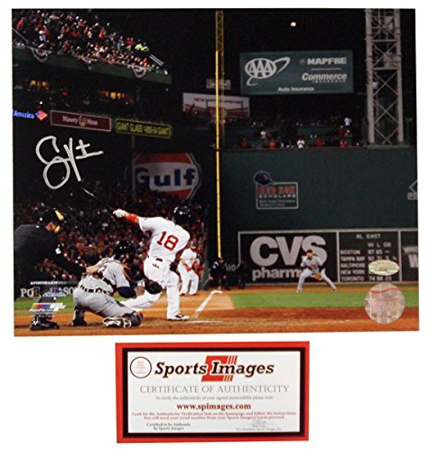 NOF SS-SPI-AUVICTORINO8PGS Shane Victorino Framed Grand Slam Photo, 8