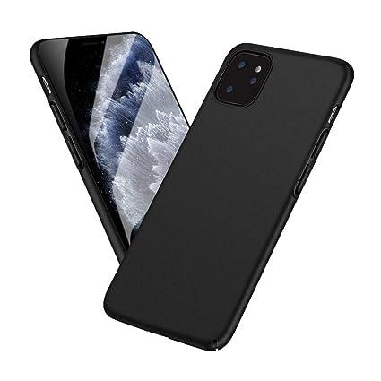 Meidom Ultra Dünn Kompatibel mit iPhone 11 Pro Max Hülle [Anti Fingerabdruck] [rutschfest] Schutzhülle für iPhone 11 Pro Max (6,5 Zoll) Matt Schwarz