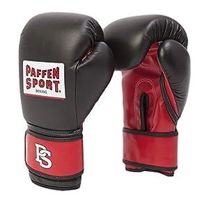 Paffen Sport ALLROUND ECO Boxhandschuhe für das Training; schwarz/rot; 12UZ