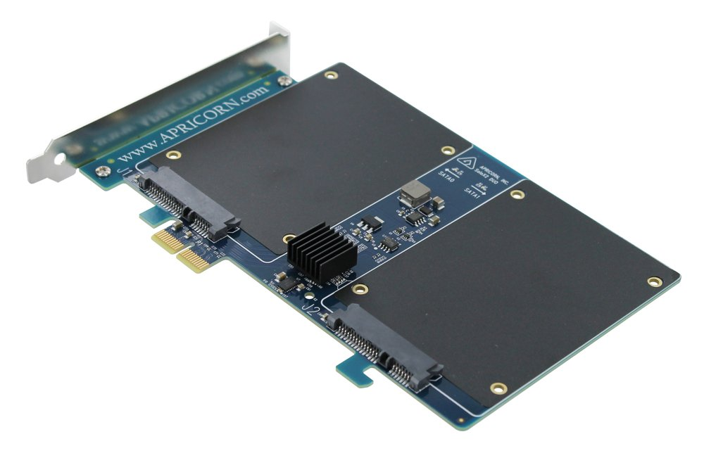 Apricorn Velocity Duo SSD Upgrade Kit and Disc Array for PC and Mac (VEL-DUO)