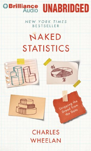 Naked Statistics: Stripping the Dread from the Data by Brilliance Audio
