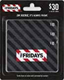 T.G.I. Friday's Gift Cards, Multipack of 3 - $10