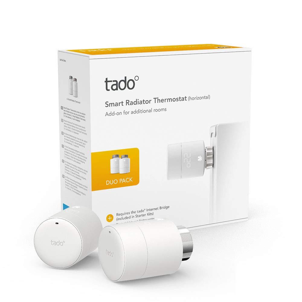 tado T/ête Thermostatique Intelligente Kit de D/émarrage V3+ Apple HomeKit IFTTT Contr/ôle intelligent du chauffage fonctionne avec  Alexa Assistant Google
