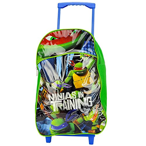 Kinder, die Große Premium Teenage Mutant Ninja Turtles Trolley Tasche Koffer