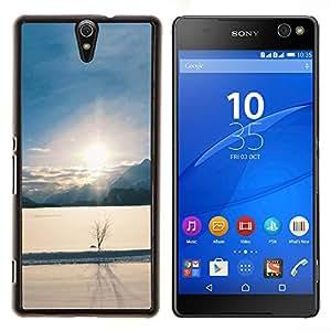 """For Sony Xperia C5 Ultra , S-type Naturaleza Lobo"""" - Arte & diseño plástico duro Fundas Cover Cubre Hard Case Cover"""
