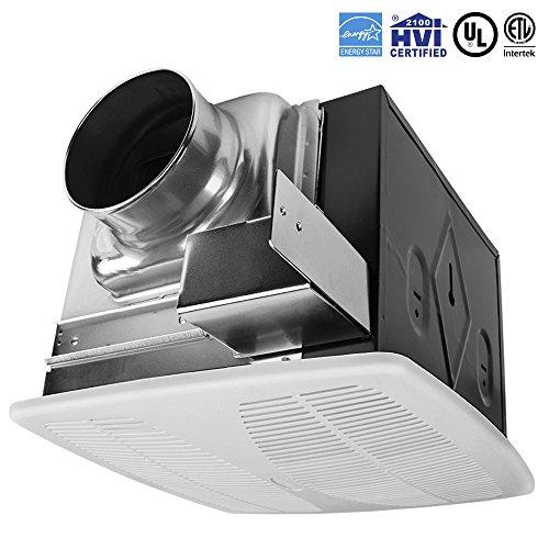 BV Super Quiet 110 CFM, 1.3 Sones Bathroom Ventilation & Exhaust Fan (Exhaust Bath Fan compare prices)