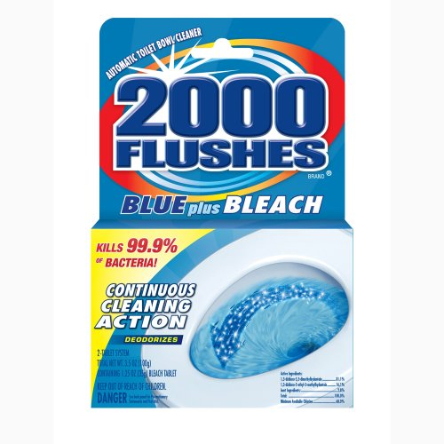 us Bleach Antibacterial Automatic Toilet Bowl Cleaner, 3.5-Ounce (Pack of 12) (2000 Flushes Toilet Bowl Cleaner)