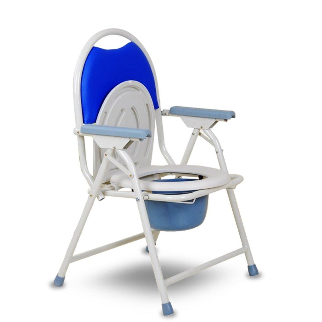 椅子折りたたみ可動式トイレ高齢者用トイレチェア妊娠中の女性座っているサイドチェアトイレチェア B07CVDXL47