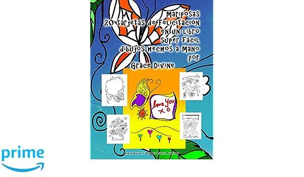 mariposas 20 tarjetas de felicitación en un libro super ...