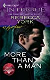 More Than a Man, Rebecca York, 0373694172