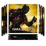 Dark Souls III 3 DS3 Game Skin for Sony Playstation 4 Pro - PS4 Pro Console - 100% Satisfaction Guarantee!