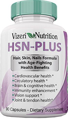 Amazon.com: Hair Skin and Nails Vitamins: 5 Patents over 50 ...