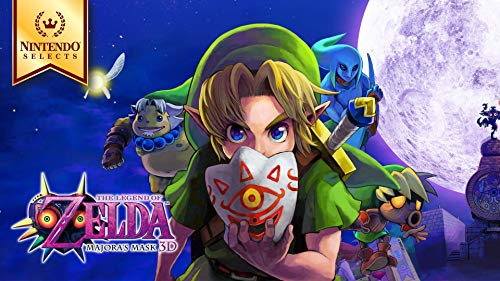The Legend Of Zelda Majora S Mask N64 - Nintendo Selects: The Legend of Zelda: Majora's Mask 3D - 3DS [Digital Code]