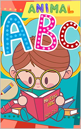 (Animal ABC books for Kids Photo book: ABC Alphabet Flash Cards Upper And Lower Case)
