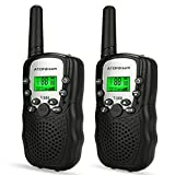 TOP Gift Toys for Boys Age 3-12, Walkie Talkies for Kids Gifts for Teen Boys Toys for Kids 3-15 Year Old Black TGDJ07