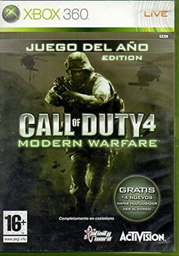 Call of Duty 4: Modern Warfare XBOX 360: Amazon.es: Videojuegos
