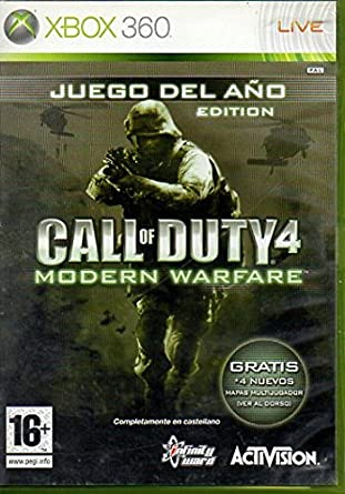 Call of Duty 4: Modern Warfare XBOX 360: Amazon.es: Videojuegos
