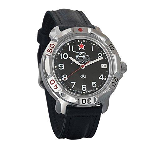 Vostok Komandirskie Commander Russian Army Mens Mechanical Military Wrist Watch #811306