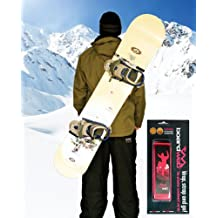 Snowboard Carrier Strap. Neon Pink Wrap Strap