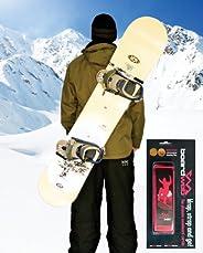 Snowboard Carrier Strap. Neon Pink