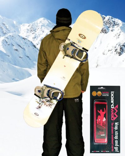 Snowboard Carrier Strap. Hands free carrier for Snowboards