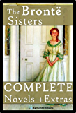 The Bronte Sisters - The Complete Novels (Annotated) + Extras