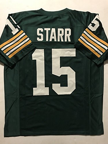 Unsigned Bart Starr Green Bay Green Custom Stitched Football Jersey Size XL New No Brands/Logos Bart Starr Memorabilia