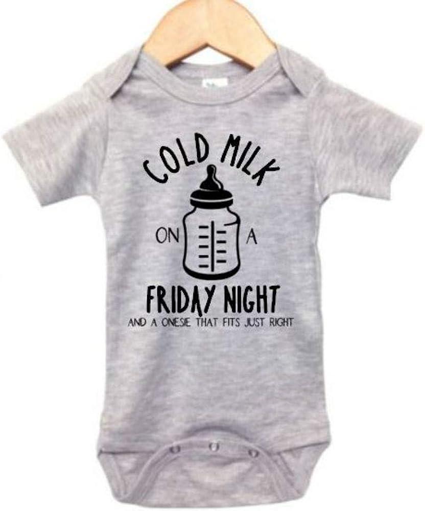 Country Music Onesie/Cold Milk On A Friday Night/Unisex Newborn Bodysuit