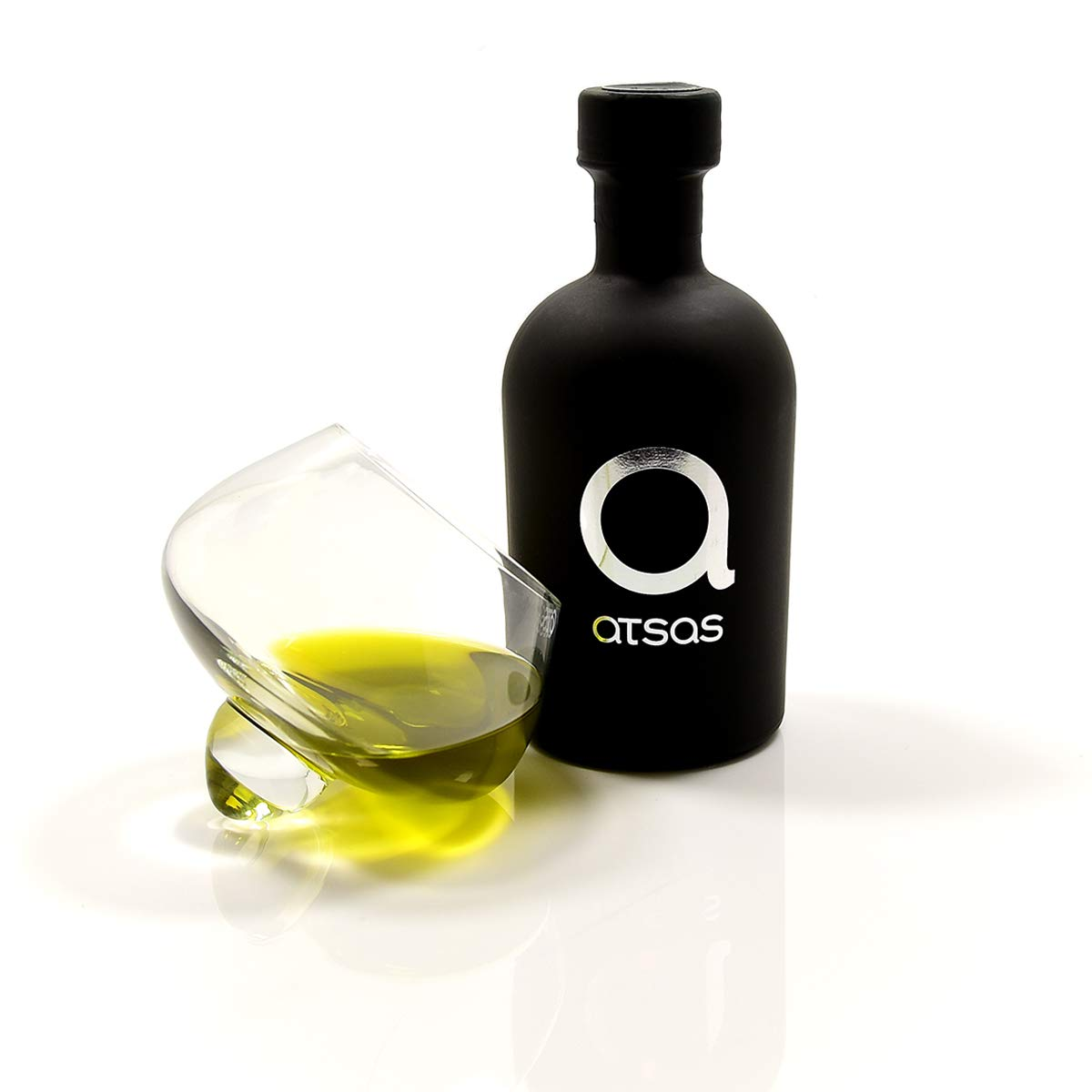 Organic Extra Virgin Olive Oil High in Polyphenols | Rich in Health-Boosting Phenols and Oleocanthal Compound | Organic Olive Oil Extra Virgin Cold Pressed from Cyprus | Harvest 2020 | (Atsas 250ml)