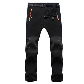 f62f22f08746 Naudamp Herren Wandern Hose Outdoor Leichte Breathable Schnelle Trockene  Klettern Cargo Hose (Black, 3XL