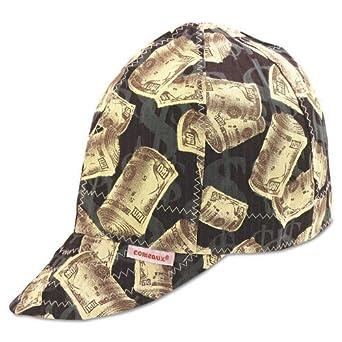 1b592cac701 Comeaux Caps 118-1000-7-5 8 Deep Round Crown Caps