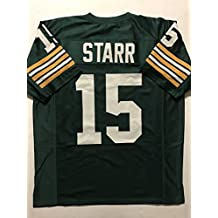 Unsigned Bart Starr Green Bay Green Custom Stitched Football Jersey Size XL New No Brands/Logos
