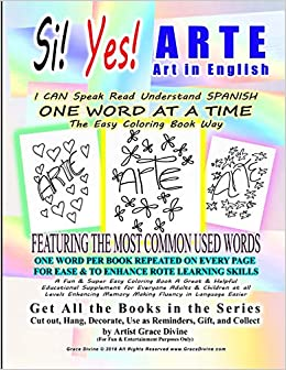 Buy Si Yes Arte Art in English I Can Speak Read Understand