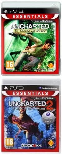 Pack Uncharted (Incluye Uncharted 1 y 2) para PS3: Amazon.es: Videojuegos