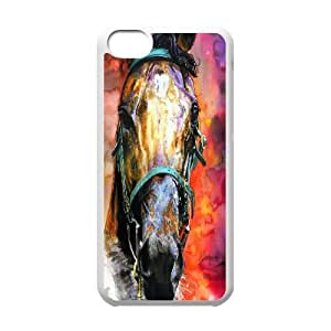 Horse racing Case Cover Best For Iphone 5c FKLB-T515267