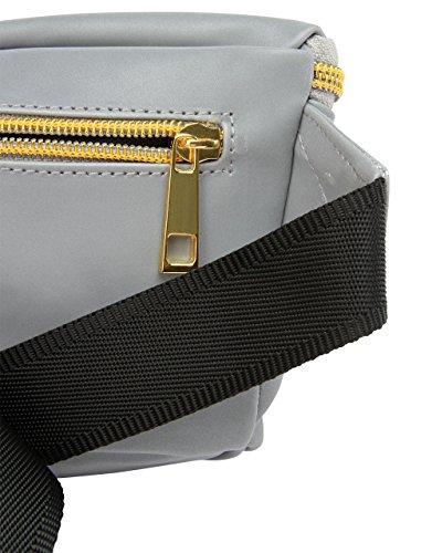 1 Bag Mi Pac 6 L Bum 22 Daypack Casual Champagne Silver Reflective cm Slim qS8qxrwtT